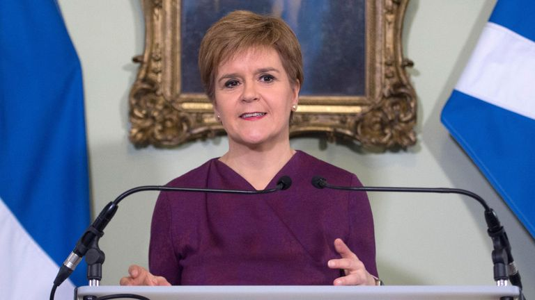 Nicola Sturgeon sets out the case for a second referendum on Scottish independence