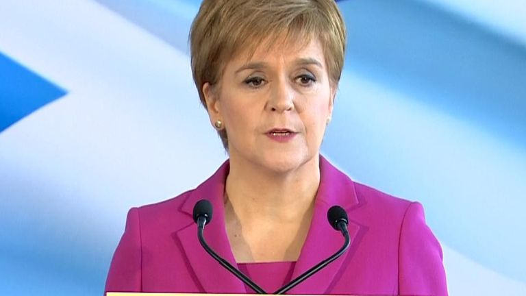 Nicola Sturgeon reflects on a night of success for the SNP