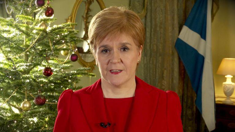 Nicola Sturgeon delivers 2019 Christmas message