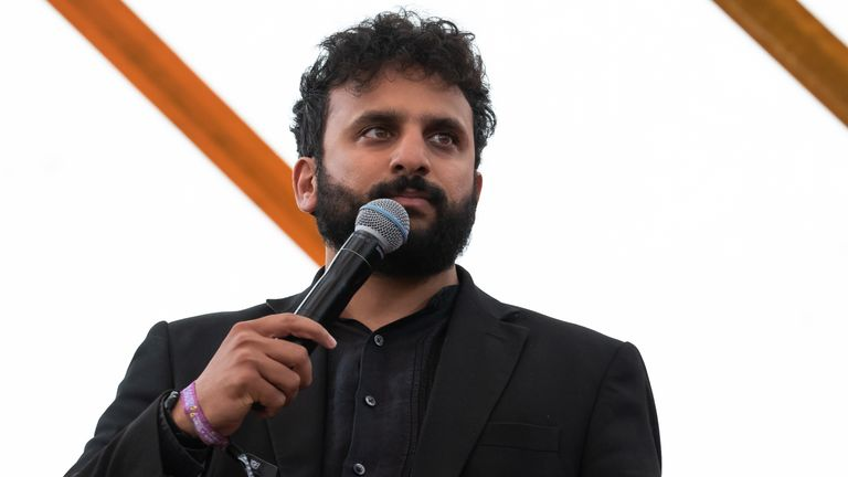 Nish Kumar at Latitude