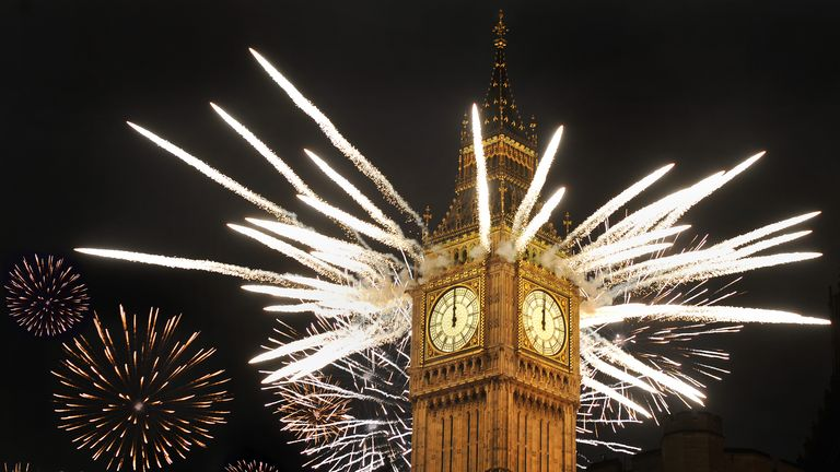A clear starry night is likely to be obscured by fireworks alone