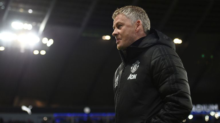 Ole Gunnar Solskjaer branded the alleged abuse 'unacceptable'