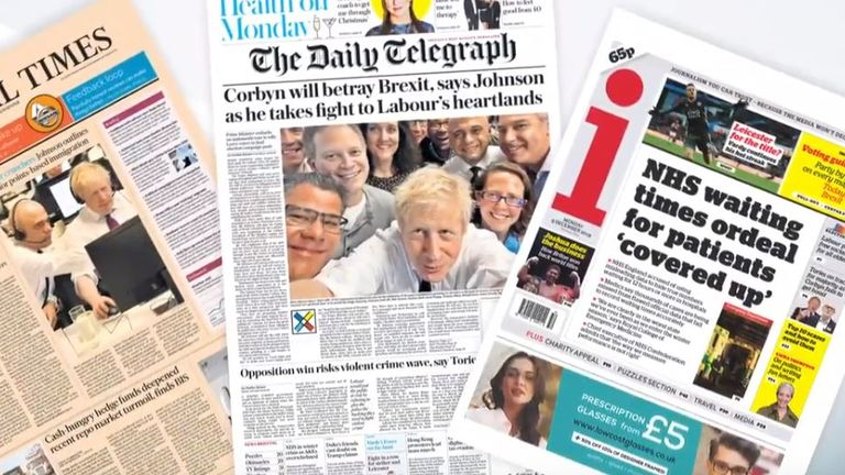 Monday papers