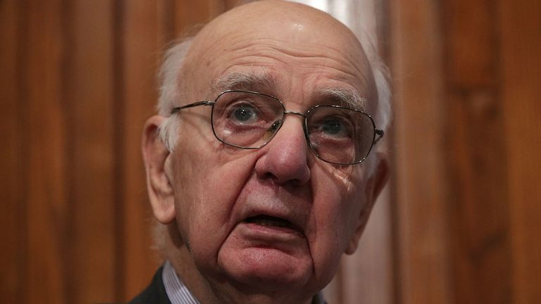 Paul Volcker is the most celebrated central banker in the world