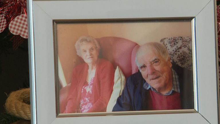The pensioner celebrated her 60th wedding anniversary earlier this year
