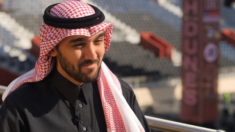 Prince Abdulaziz has defended his country's decision to host the match