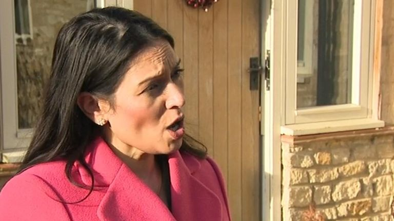Priti Patel speaks on Harry Dunn case