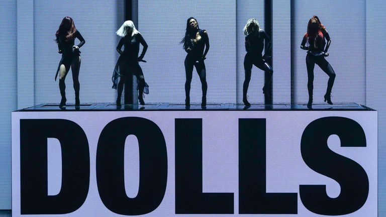 The Pussycat Dolls on the X Factor