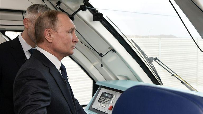 Putin still