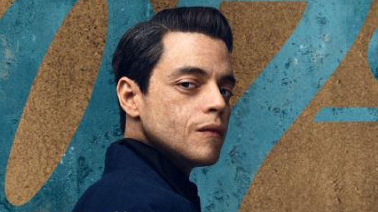 Rami Malek in James Bond: No Time To Die. Pic: MGM