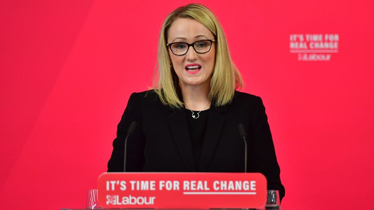 Rebecca Long-Bailey is considering standing for the Labour leadership