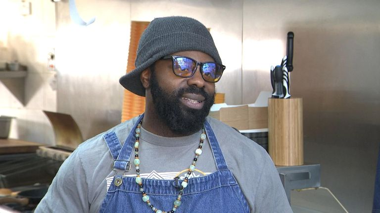 Reuben Lawrence, owner of the Sowl Food vegan restaurant, has said most of his customers also eat meat