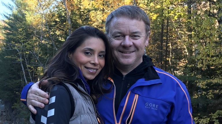 Richard Field and Lina Bolanos were engaged to be married