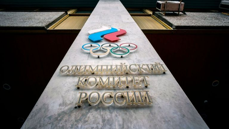 The Russian Olympic Committee will not be able to send a team to Tokyo next summer