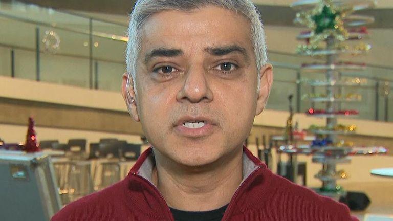 Sadiq Khan says Jeremy Corbyn is an unpopular leader