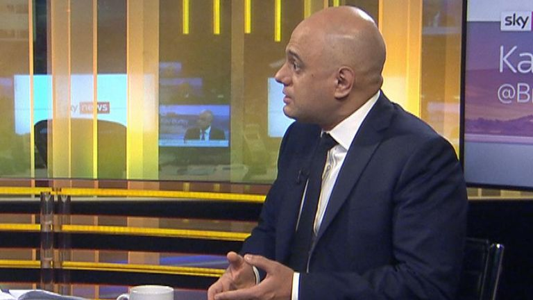 Sajid Javid talks about what a majority Conservative government would do in the first 100 days in office