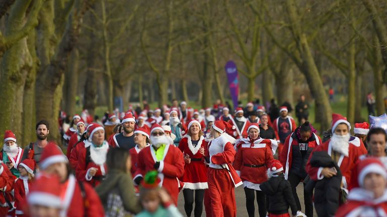 Organisers expect to raise up to £1 million in the London run