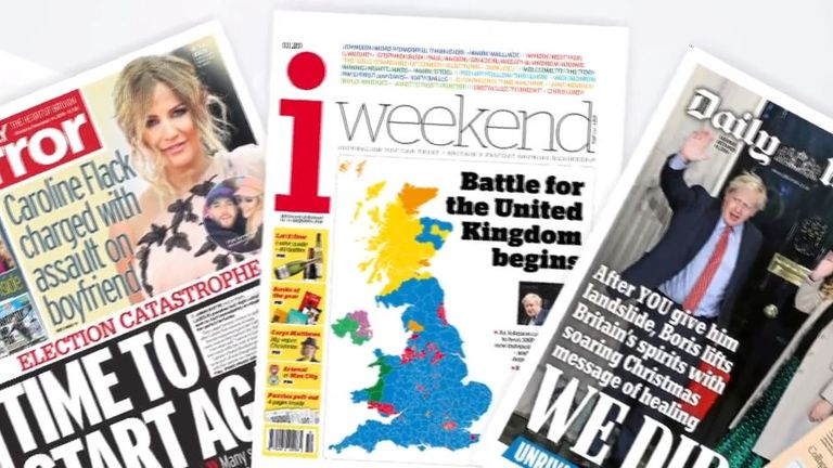 Saturday papers