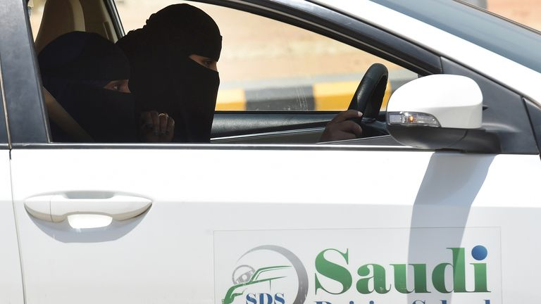 The ban against Saudi women driving was lifted last year