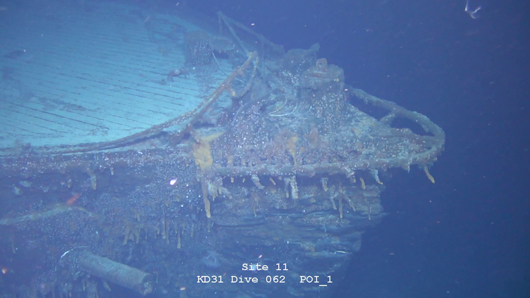 SMS Scarnhorst was found with the help of automated underwater vehicles