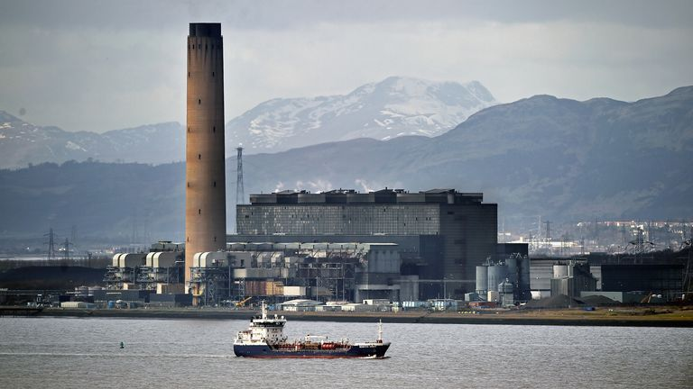 Coal-fired electricity production ended in Scotland when Longannet power station switched off its generators in March 2016