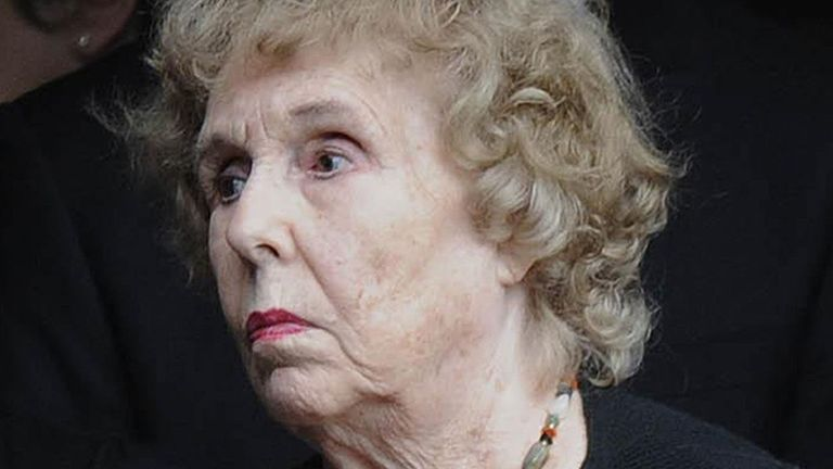 Former Emmerdale actress Sheila Mercier who has died aged 100