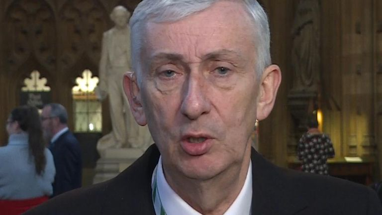 New Commons Speaker Sir Lindsay Hoyle discusses his revelation that he has Type One Diabetes