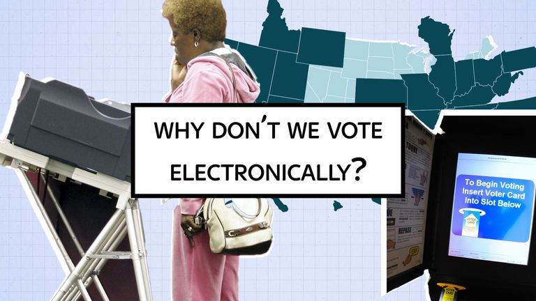 Sky News explains: Why don't we vote electronically?