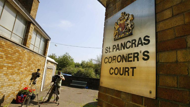 Shante Turay-Thomas's case is being heard at St Pancras Coroner's Court in London