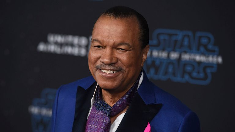 Billy Dee Williams at the Rise of Skywalker premiere