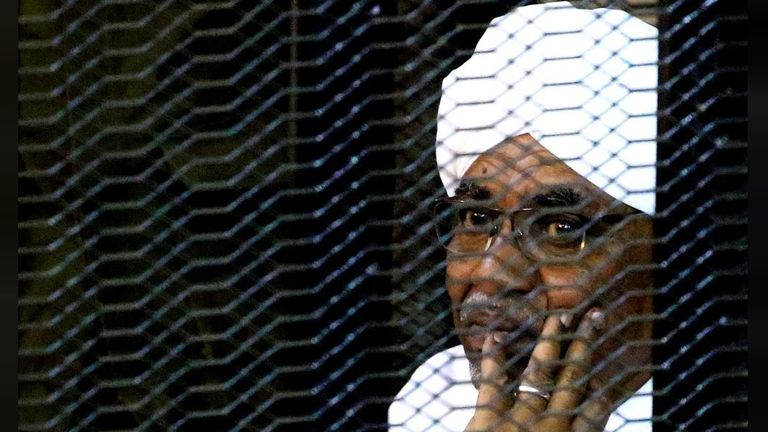Sudan's former president Omar Hassan al Bashir