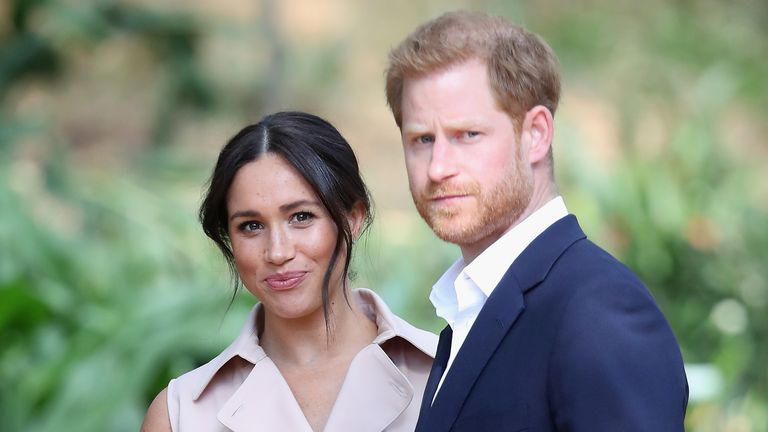Harry and Meghan have taken steps to protect their brand