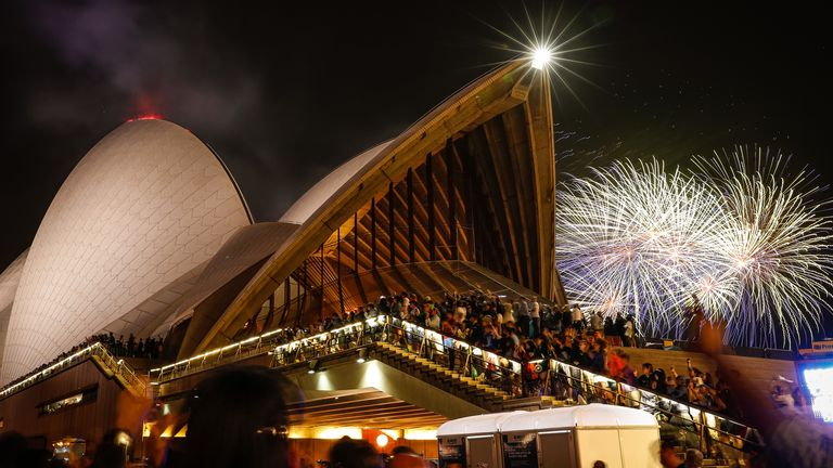 Billions watched the fireworks around the world