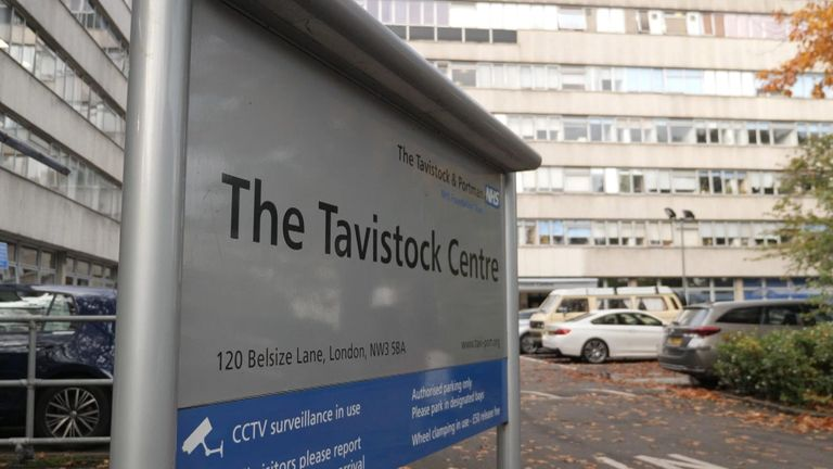 Children with gender dysphoria are treated at Tavistock and Portman NHS Foundation Trust