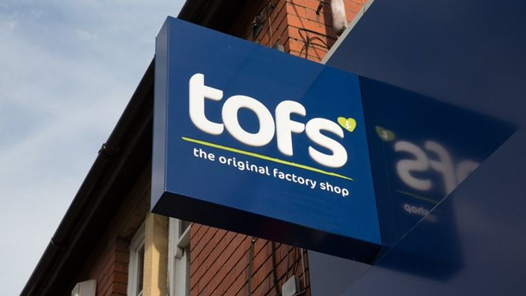 The Original Factory Shop was established in 1969. Pic: TOFS