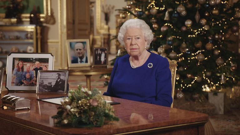 The Queen delivers 2019's Christmas message