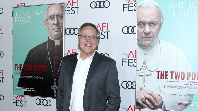 The Two Popes director Fernando Meirelles. Pic: Netflix
