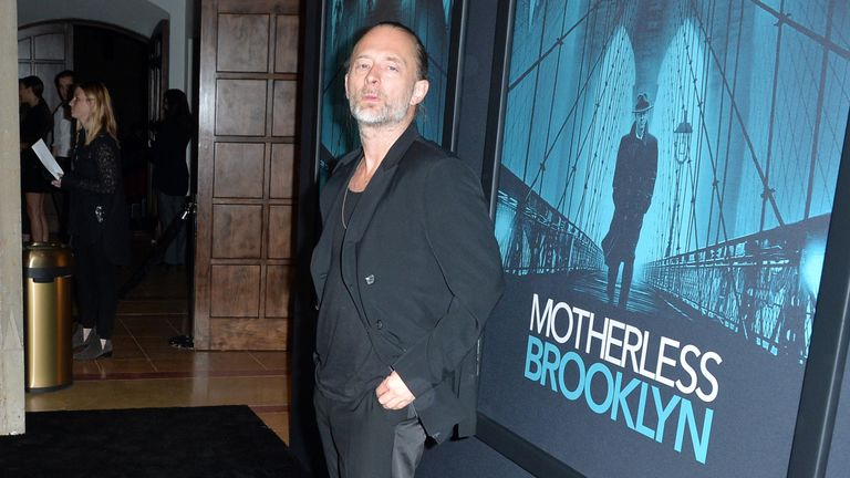 Thom Yorke wrote a track for Ed Norton's Motherless Brooklyn