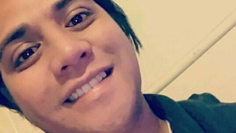 Tipene Maangi, 24, is missing following the volcanic eruption. Pic: Facebook