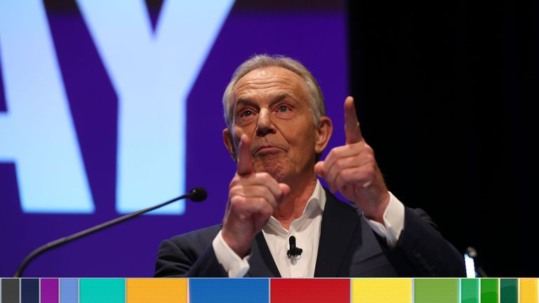 Tony Blair praised his predecessor's Brexit intervention