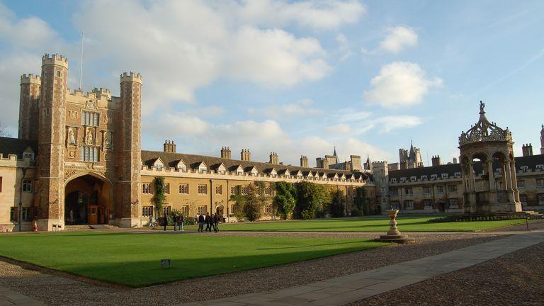 Trinity College is Cambridge University's wealthiest college. File pic