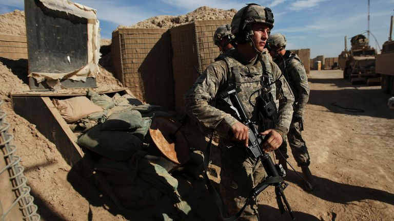 US troops withdrew from Iraq in 2011