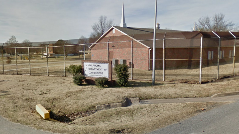 The Dr Eddie Earrior correctional center in Oxlahoma. Pic: Google Maps