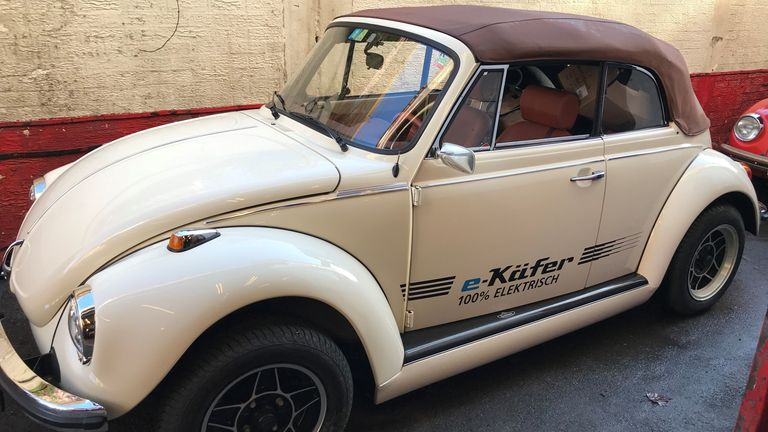 Joseph Salama will be converting old Volkswagen cars into electric ones