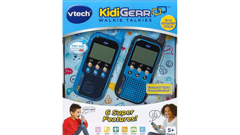 The Vtech Walkie Talkies allow other users to start a two-way conversation from 200m