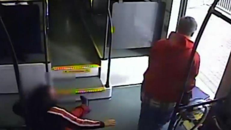 Man captured trying to steal a wheelchair from a woman