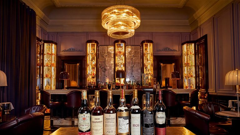 The whisky collection is expected to fetch up to £8m at auction