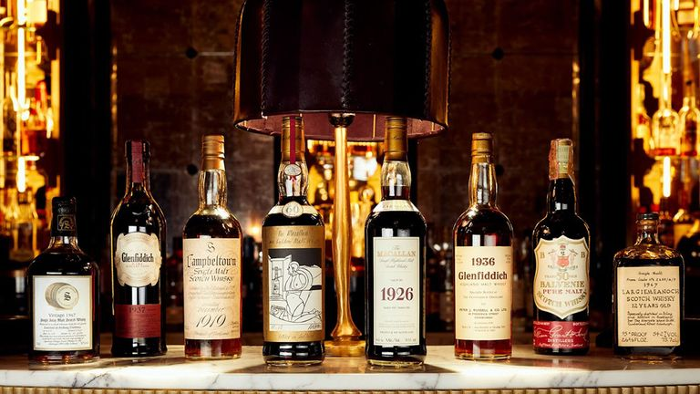 The 'rare' collection of whisky is made up of 3,900 bottles