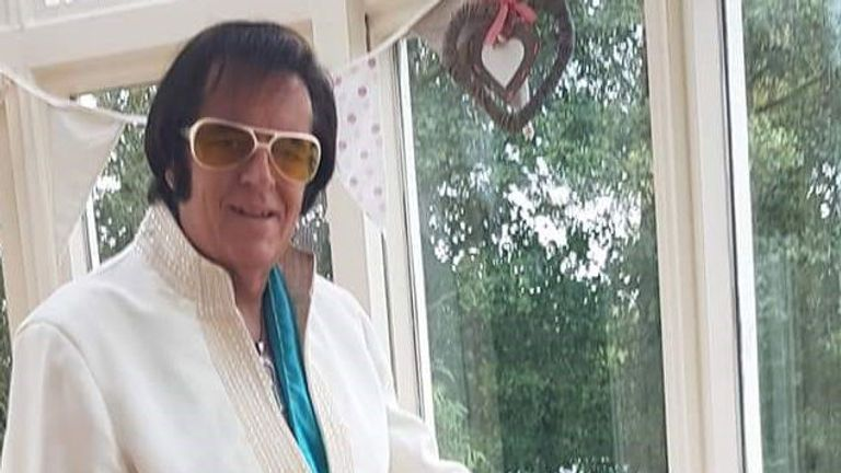 Rev Wynne Roberts as Elvis