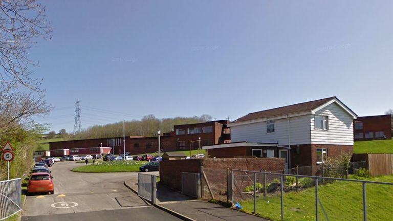 Ysgol Bryn Castell is located on the Bryncethin Campus in Bridgend. Pic: Google Street View